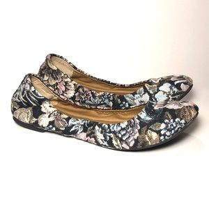 LUCKY BRAND CUTE  FLORAL TAPESTRY BALLET FLAT